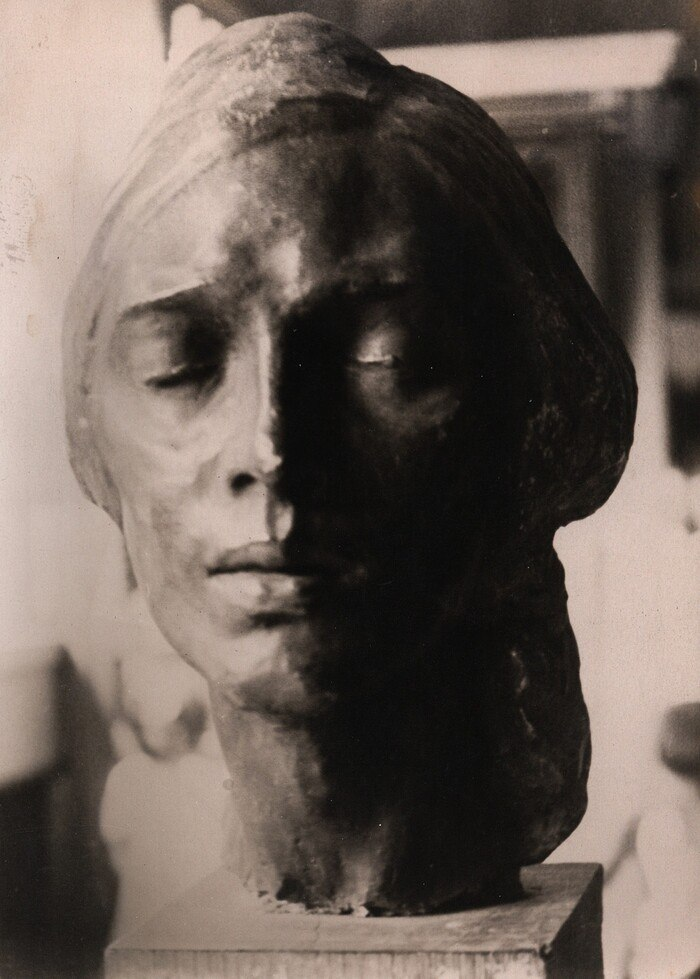 Viacheslav Prykhodko. Sculpture performed in student years
