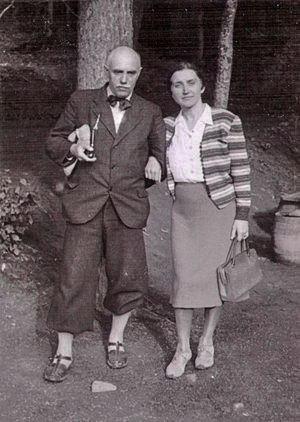 Йосип Бокшай із дружиною
