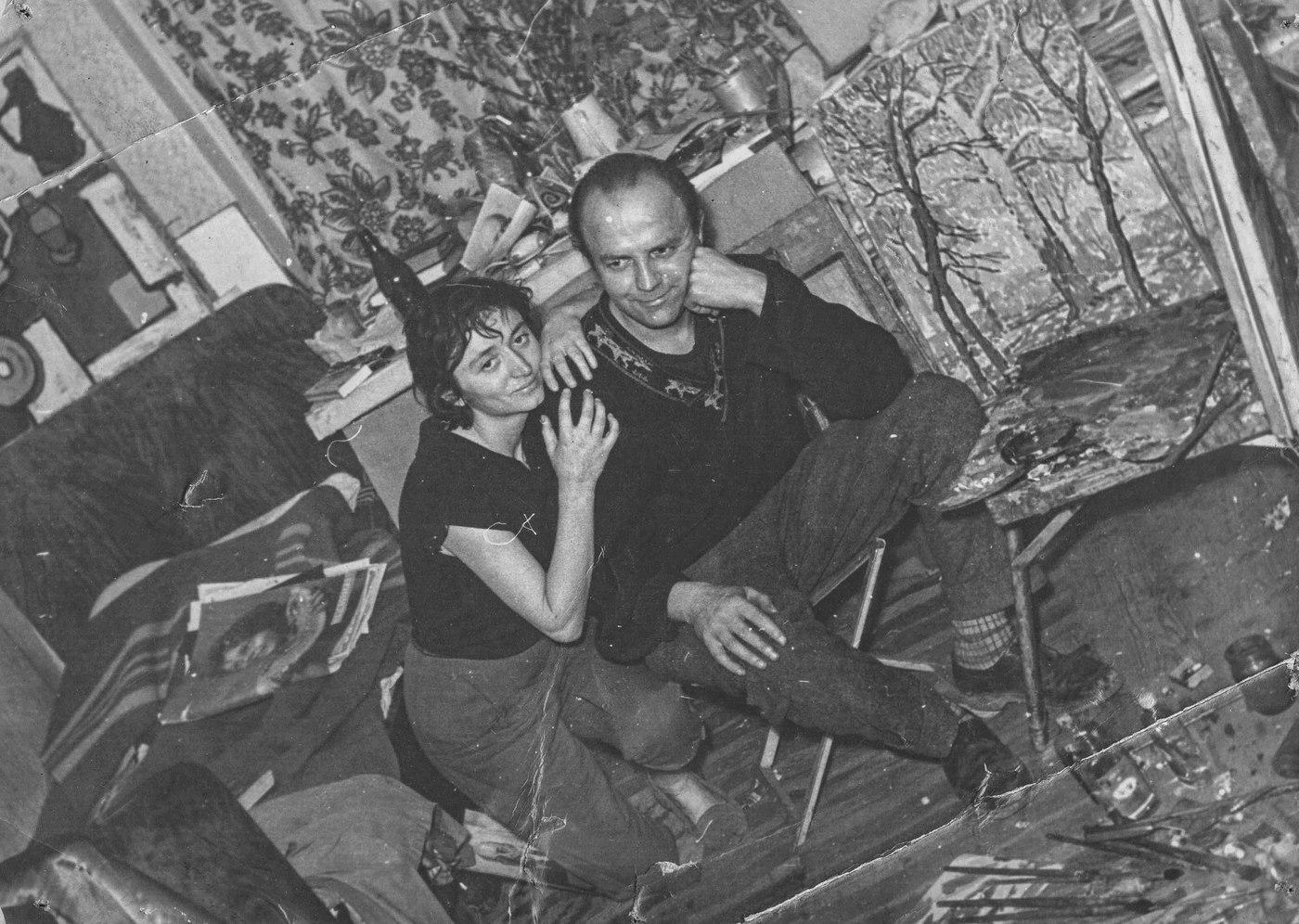 Єлизавета Кремницька і Павло Бедзір (Фотоархів А. Ковача)