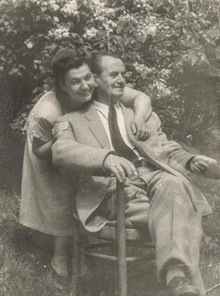 Mahdalyna Slyvka and Adalbert Erdeli