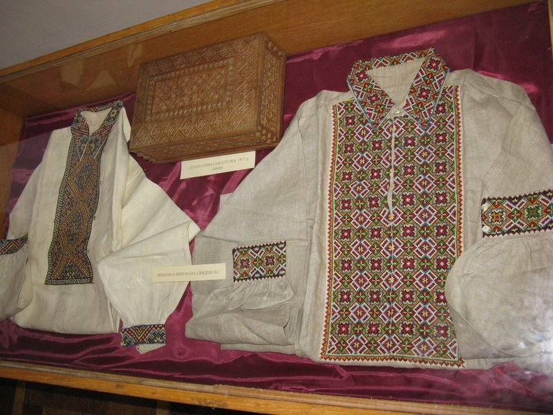 Shirts (series). 1950s – early 1960s. Embroidery. Uzhhorod