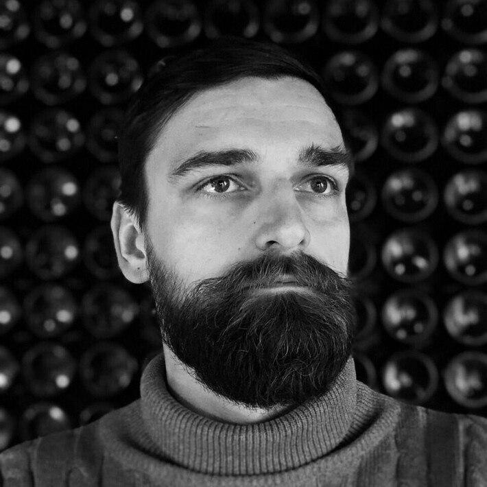 Dmytro Puzanov, the organizer of Lviv Art Days art project