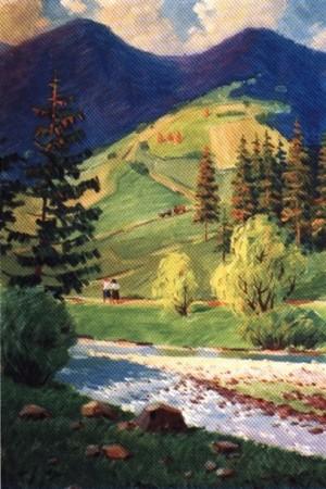 Біля с.Майдан, 1974