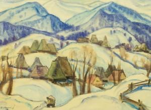 Зимовий ранок, 36х47