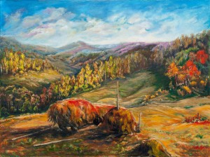 M. Berezanych 'Harvesting Hay'