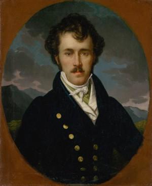T. Boemm Portrait Of A Man', 1850, oil on canvas, 71,6x57,7