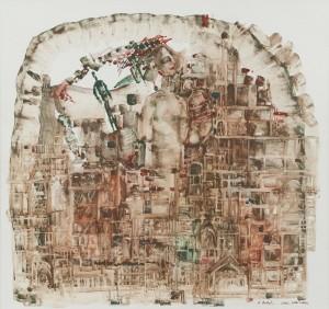 K. Holló 'Commedia Dell'arte'