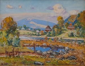 Z. Sholtes 'Verkhovyna Summer', 1984.