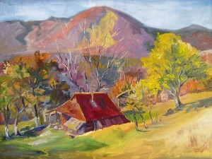 Colours Of Autumn', 2010, oil on canvas, 80x60