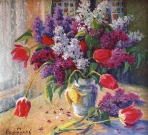 Бузок і тюльпани, 1964