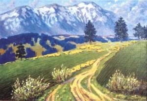 Весна. Міжгіря, 1984