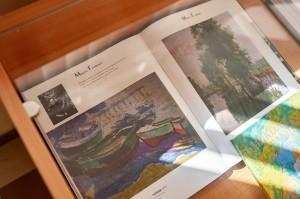 «Етюди» Миколи Глущенка в Закарпатському обласному художньому музеї ім. Й. Бокшая