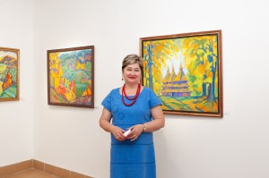 Jubilee exhibition of Liubov Mykyta