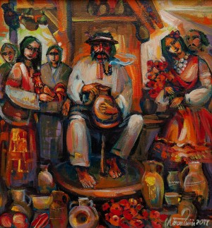 M. Bahnii 'Market Day'