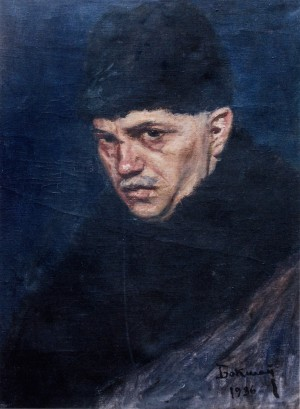 Self-Portrait, 1936, oil on canvas, 48х35