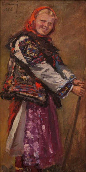 Y. Bokshai Hutsul Girl'.