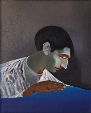Фірцак Б. 'Автопортрет', 1998, п.о., 64х52