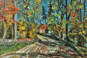 Гав'юк Ю. 'Село Верещаки', 1947, п.о.