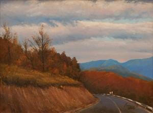 O. Lypchei 'A Road', 2009