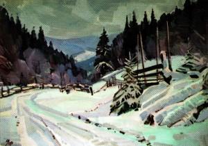 Савіних Я. 'Щауль', 2011, п.о., 50х70