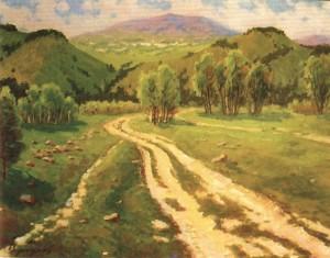 Весна. Польова дорога, 1988