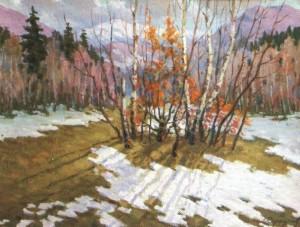 Весна. Проталини, 1992