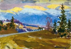 Верецький перевал, 1989 р.