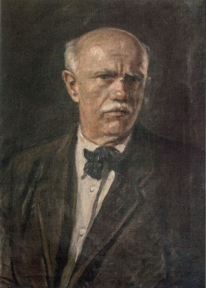 Self-Portrait, 1940s, oil on canvas, 61x42