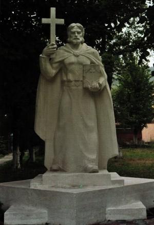 Гав'юк Ю. 'Володимир Великий', 2008, штучний мармур