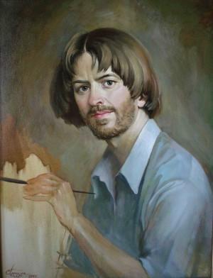 Автопортрет, 2001, п.о., 65х50