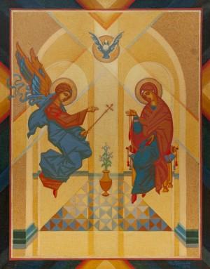 M. Hresko 'Annunciation', 1992