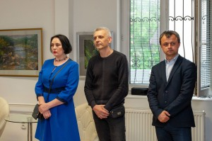 Exhibition of works at the Consulate General of Slovakia in Uzhhorod