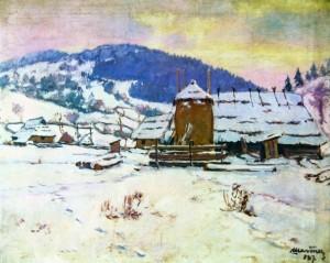 Взимку, 1937 р.