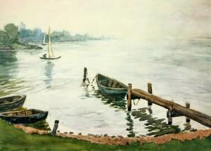 Вранці на березі, 1950 р.