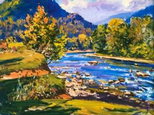 Гірська річка, 1982 р.