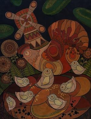 L. Diakova 'Riaba The Hen'