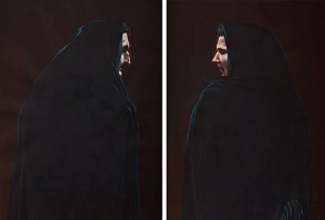 Фірцак Б. 'Вдови', диптих, 2004, к.гуаш, 90х60