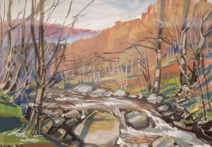 V. Hanzel Spring Stream'