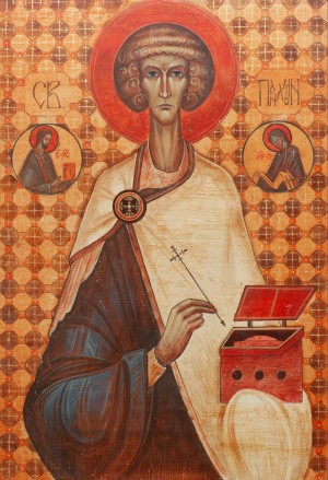 A. Hevko 'Saint Panteleimon', 2011.