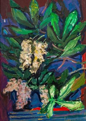 M. Hlushchenko 'Spring Chestnuts', 1956