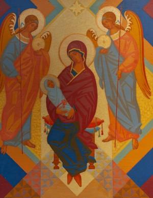 Гресько М. 'Богоматір з Архангелами', 2005