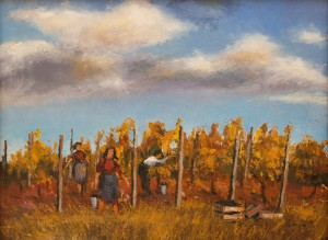 O. Lypchei 'Grape Harvesting', 2008
