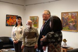 Виставка Яноша Рейті в Генеральному консульстві Угорщини в м. Ужгород