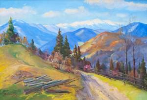 V. Senko My Verkhovyna', 2009, oil on canvas, 90x130