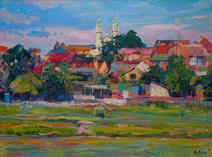 V. Vovchok 'Summer In Uzhhorod', 2019.