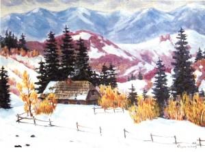 Зима в Ставному, 2000