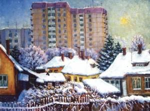 Зима. Ужгород, 2002