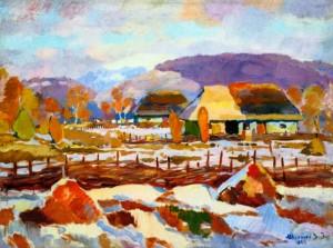 Зима, 1946 р.