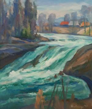 Бабинець Й.  'Гірська річка'