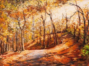 M. Berezanych 'Autumn Road'
